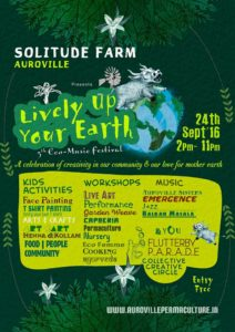 Lively Up Your Earth 2016 - Flyer